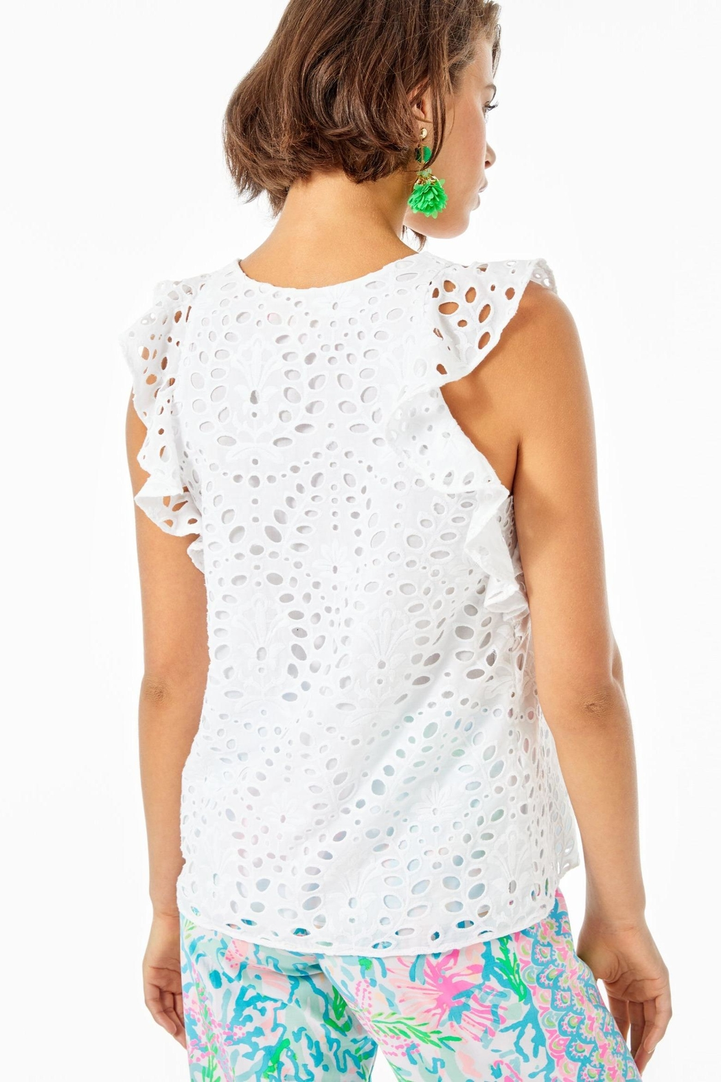 Lilly Pulitzer Faun Top - Front Full Image