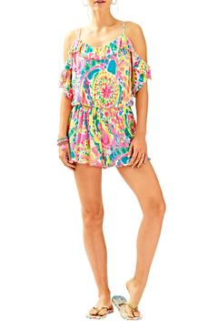 Shoptiques Product: Colorful Ruffle Romper