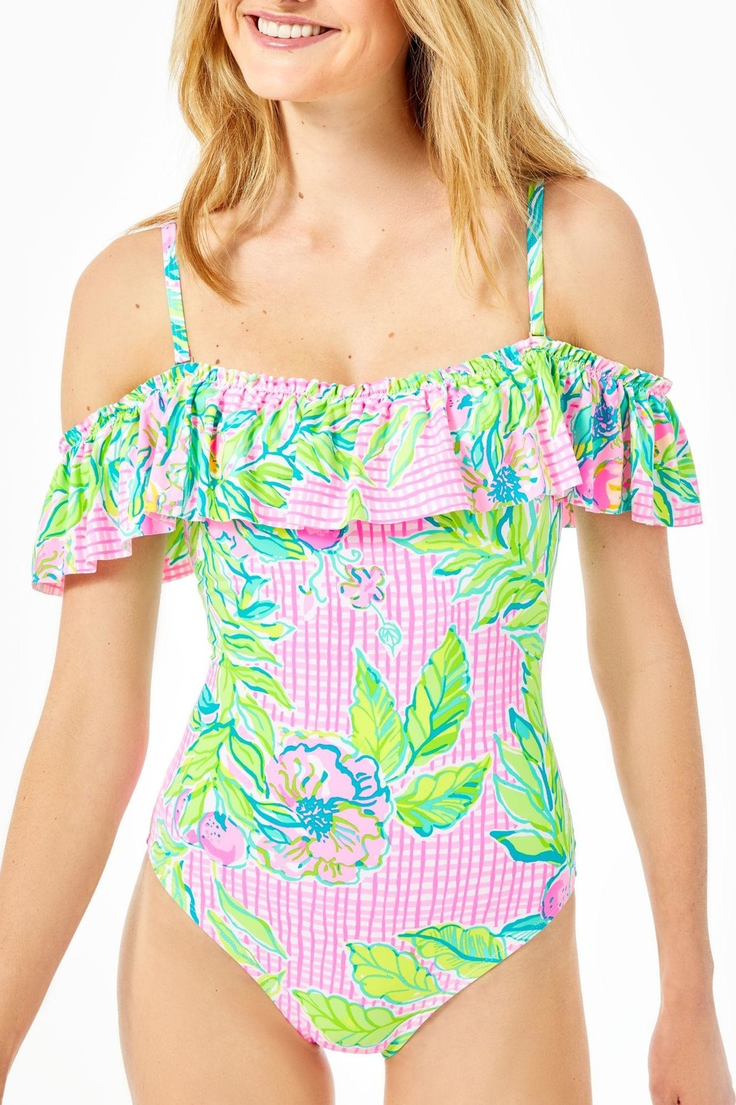 Lilly Pulitzer Fiesta One Piece - Main Image