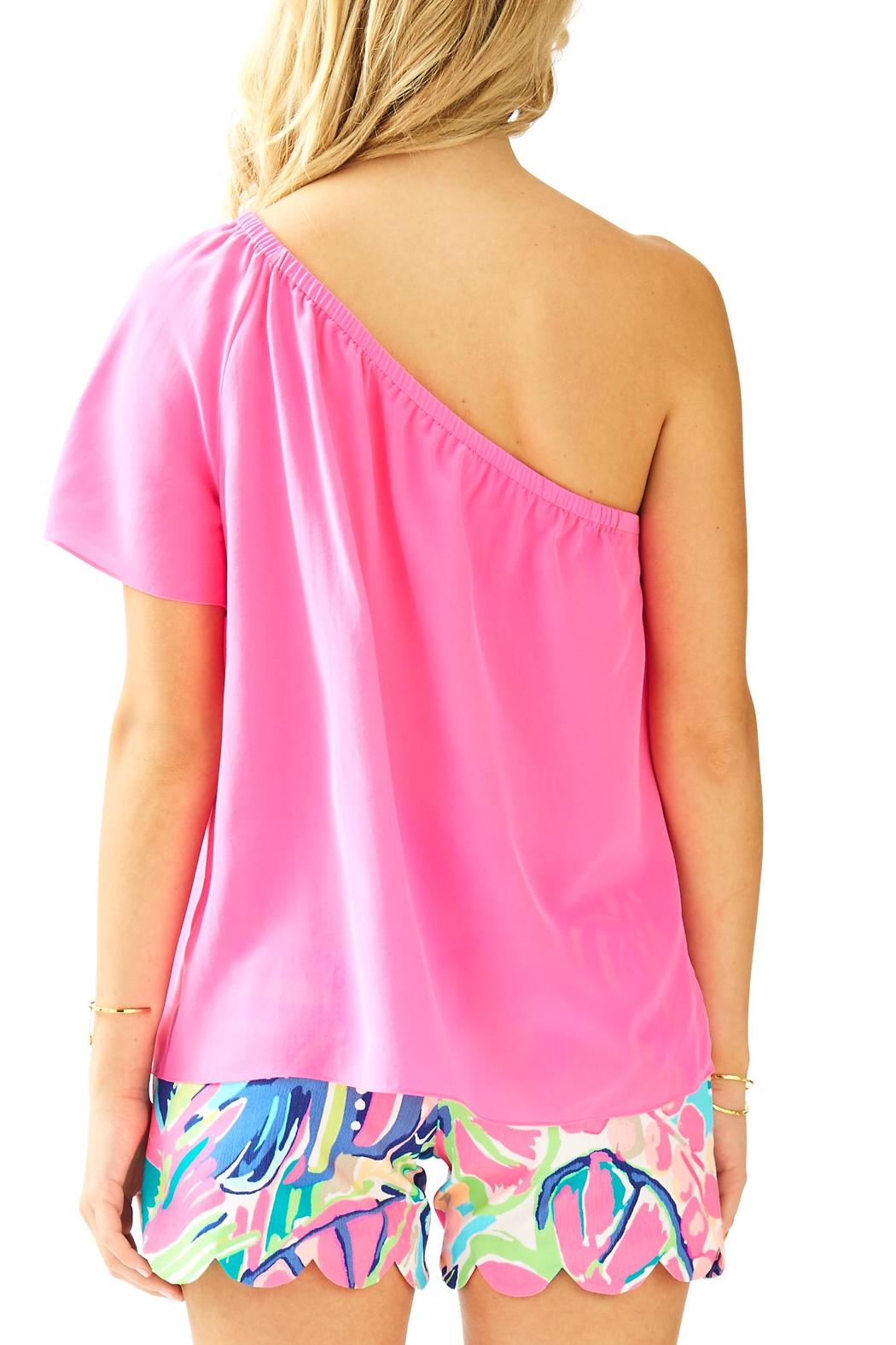 5e4f271a10e Lilly Pulitzer Fifer One-Shoulder Top from Sandestin Golf and Beach ...