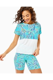 Lilly Pulitzer Finn Cropped Top - Side cropped