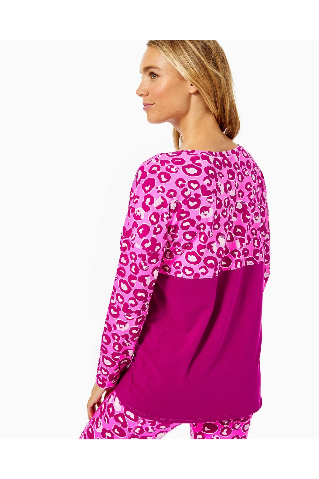 Lilly Pulitzer Finn Top - Side Cropped Image