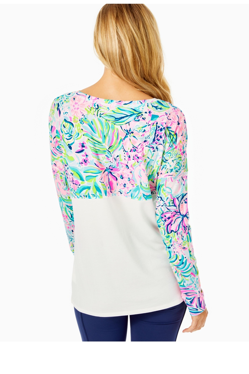 Lilly Pulitzer Finn Top - Front Full Image