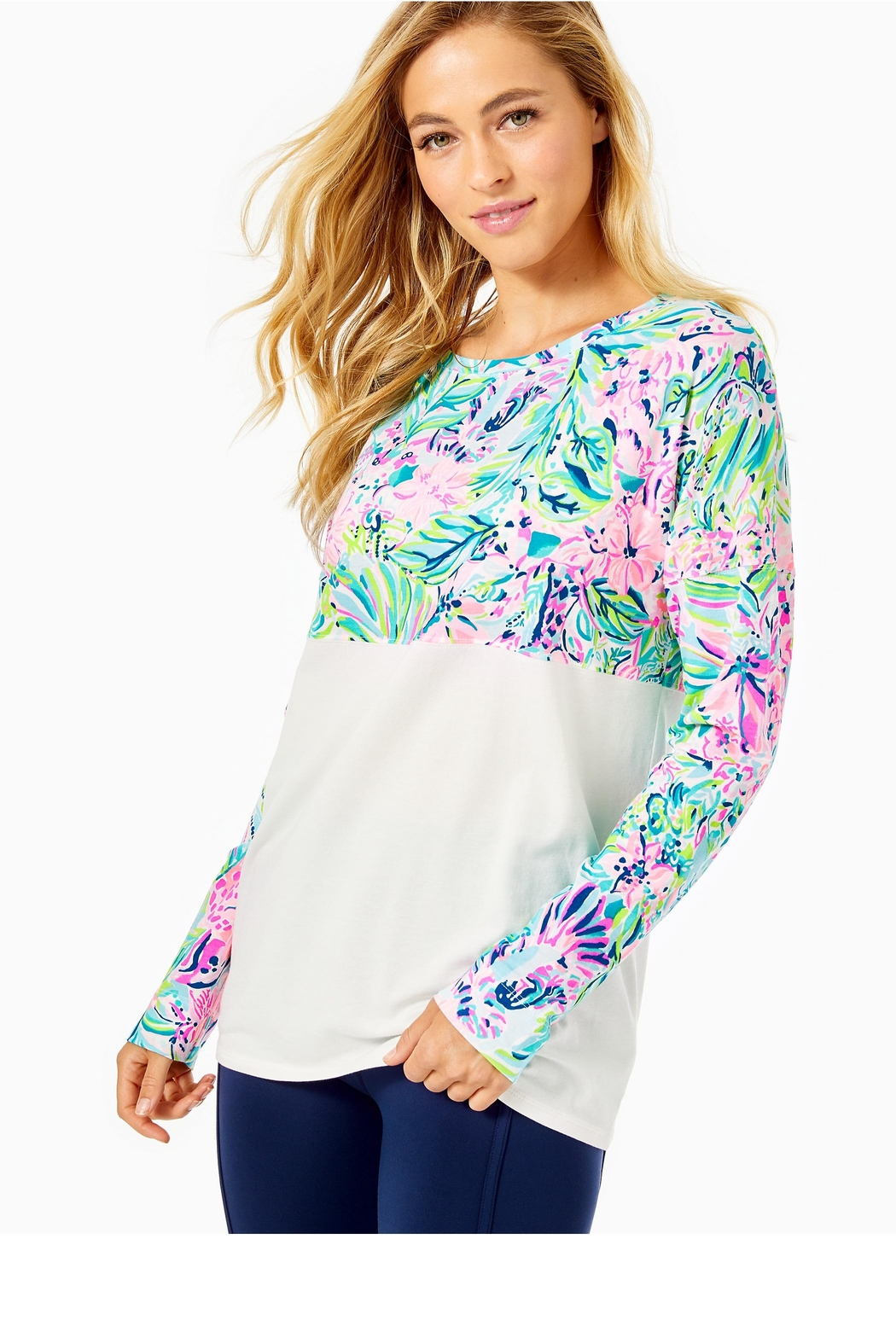 Lilly Pulitzer Finn Top - Main Image