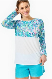 Lilly Pulitzer Finn Top - Front cropped