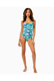 Lilly Pulitzer Flamenco One-Piece Swimsuit - Back cropped