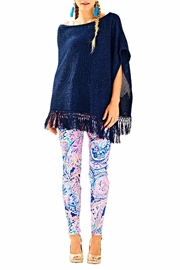 Lilly Pulitzer Floreanna Fringe Wrap - Side cropped