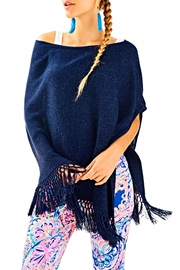 Lilly Pulitzer Floreanna Fringe Wrap - Front cropped