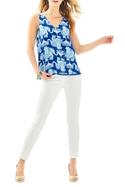 Lilly Pulitzer Florin Reversible Tank - Side cropped