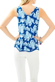 Lilly Pulitzer Florin Reversible Tank - Front full body