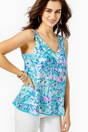 Lilly Pulitzer Florin Reversible Tank Top - Product Mini Image