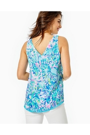 Lilly Pulitzer Florin Reversible Tank Top - Front full body