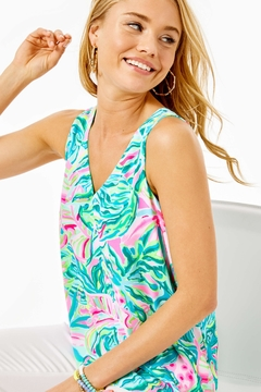 Lilly Pulitzer Florin Reversible Tank-Top - Product List Image
