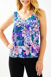 Lilly Pulitzer Florin Reversible Tank-Top - Product Mini Image