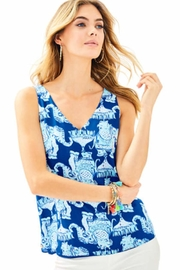 Lilly Pulitzer Florin Reversible Top - Product Mini Image