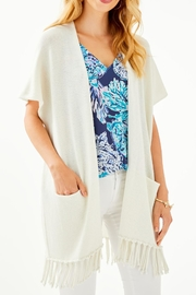 Lilly Pulitzer Frederica Short-Sleeve Cardigan - Product Mini Image
