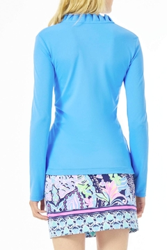Lilly Pulitzer Frida Polo Luxletic UPF 50+ - Product List Image