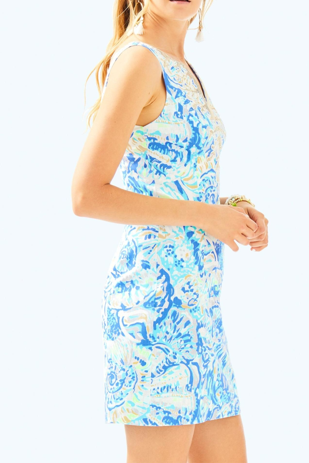 Lilly Pulitzer Gabby Shift Dress - Side Cropped Image