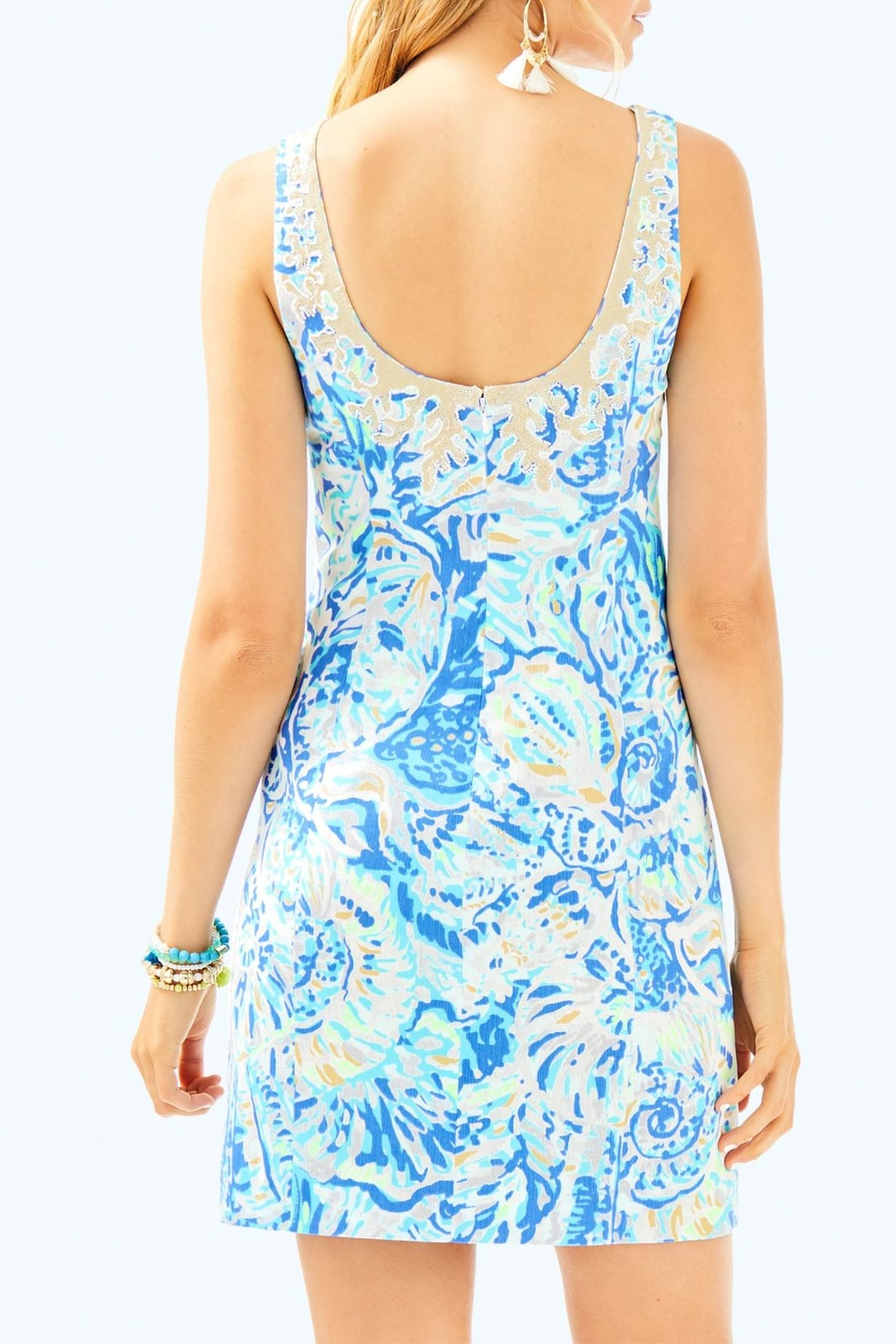 Lilly Pulitzer Gabby Shift Dress - Front Full Image