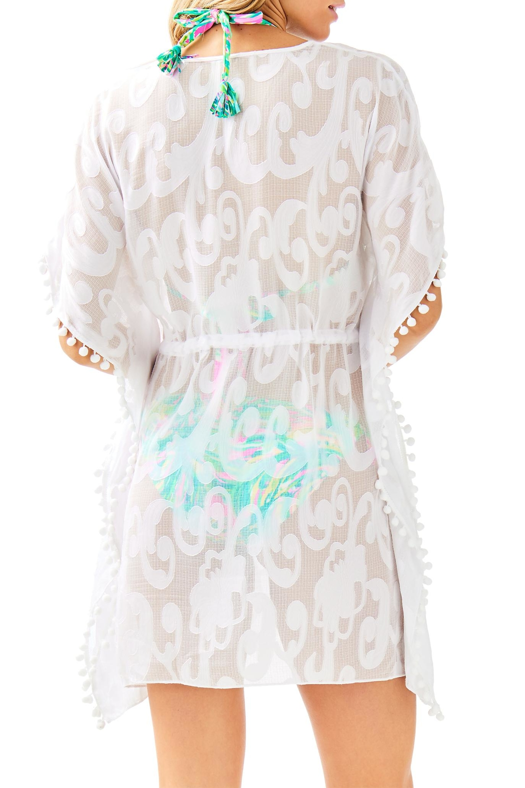 Lilly Pulitzer Gardenia Coverup - Front Full Image