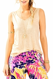 Lilly Pulitzer Gigi Sleeveless Tank Top - Front cropped