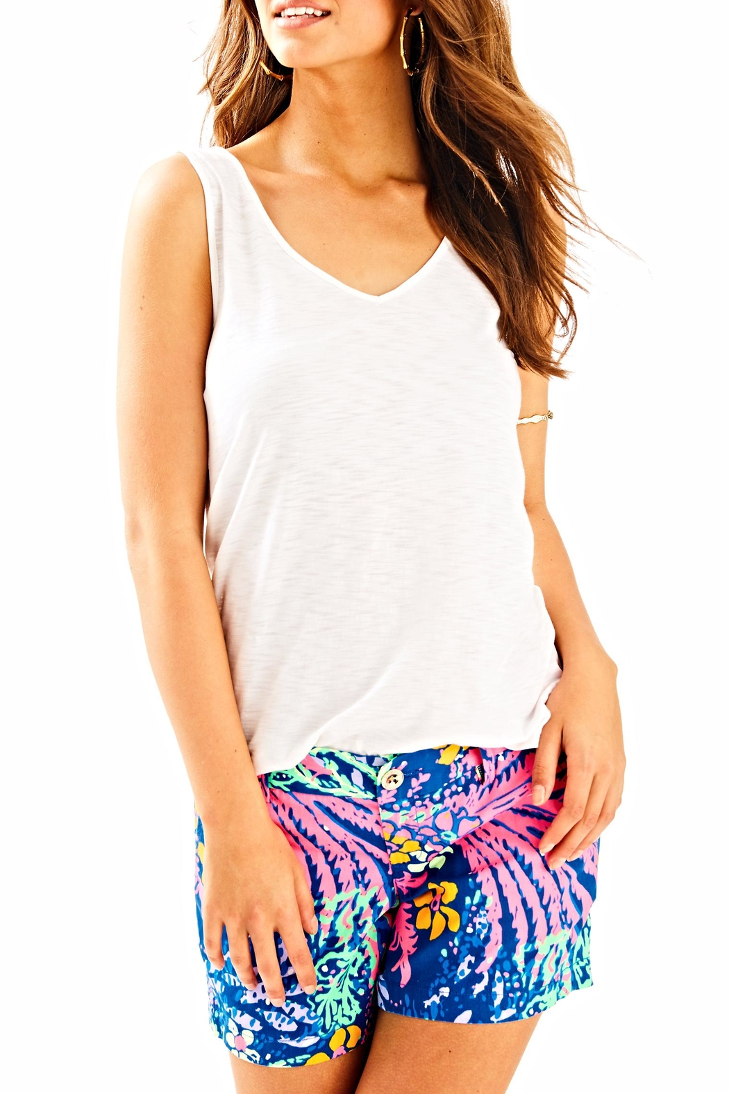 Lilly Pulitzer Gigi Top - Front Cropped Image