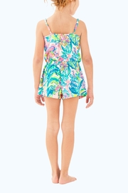 Lilly Pulitzer Girls Aleene Romper - Front full body
