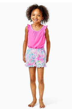 Lilly Pulitzer Girls Carrita Shorts - Product List Image