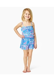 Lilly Pulitzer Girls Jaycee Romper - Side cropped