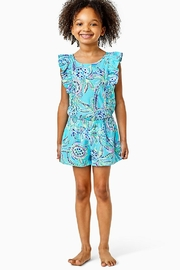 Lilly Pulitzer Girls Judith Romper - Product Mini Image