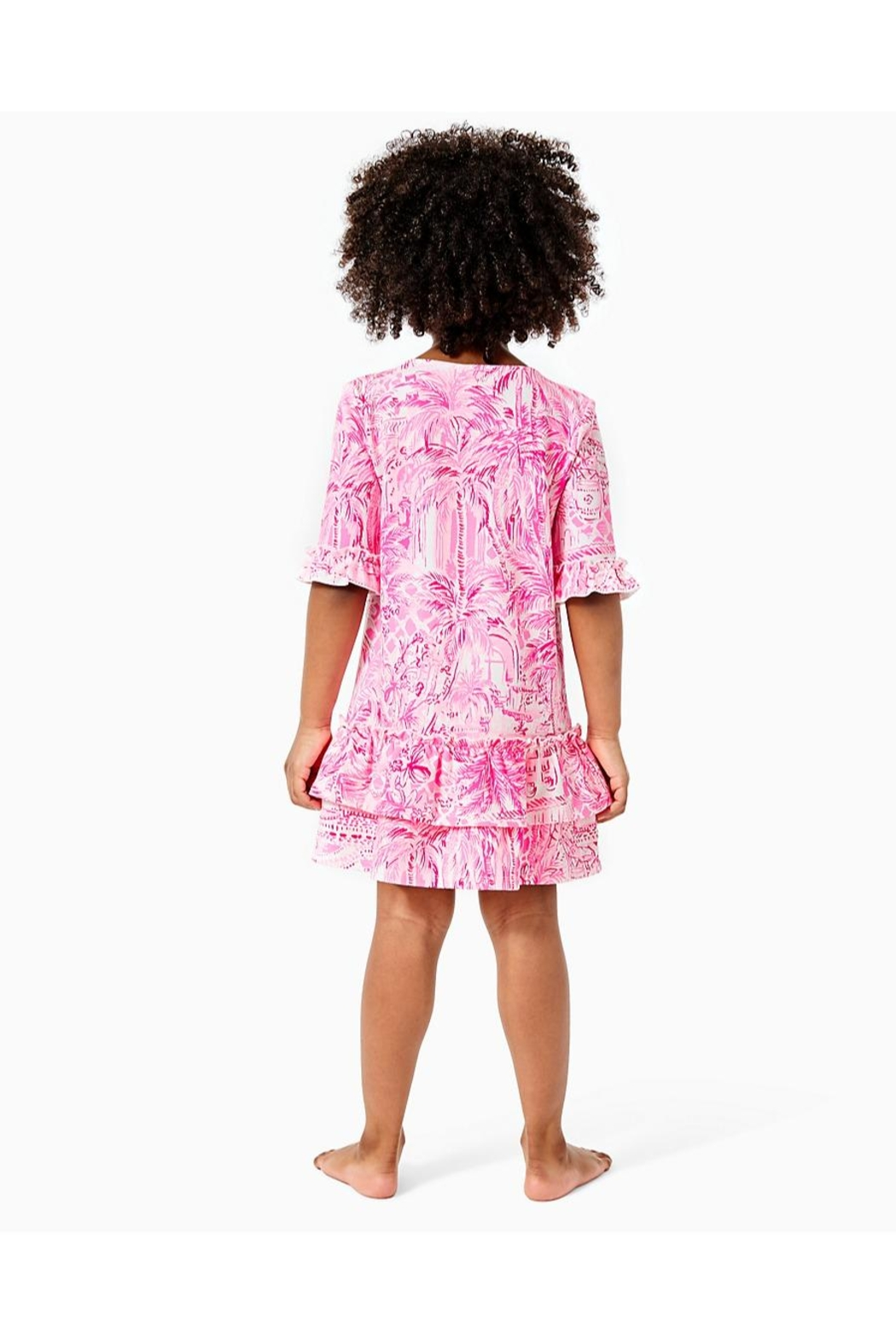 Lilly Pulitzer Girls Kailyn Dress - Front Full Image