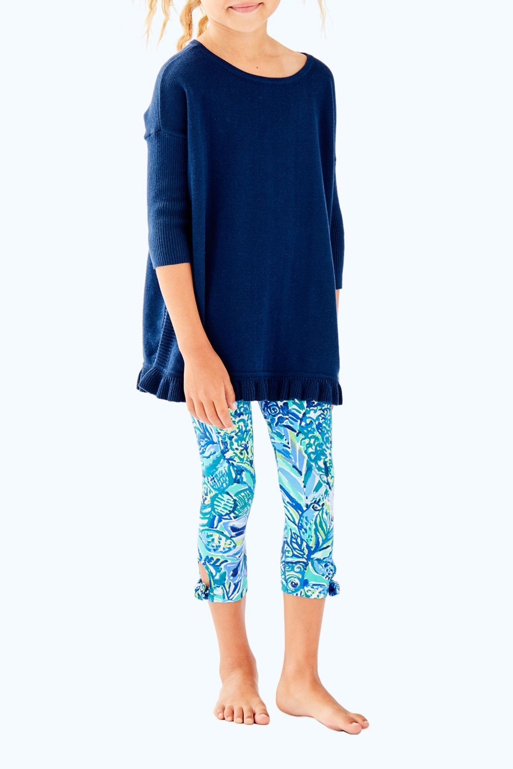 Lilly Pulitzer Girls Maia Legging - Front Cropped Image
