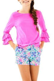 Lilly Pulitzer Girls Mazie Top - Product Mini Image