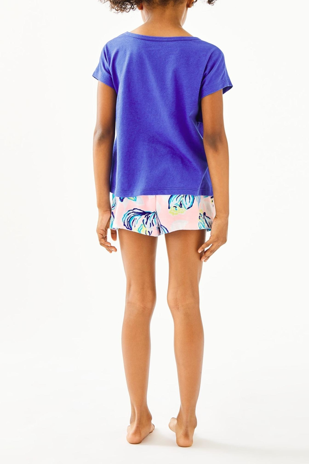 Lilly Pulitzer Girls Petal Top - Front Full Image