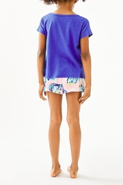 Lilly Pulitzer Girls Petal Top - Front full body
