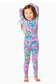 Lilly Pulitzer Girls Sammy Pajamas - Front cropped