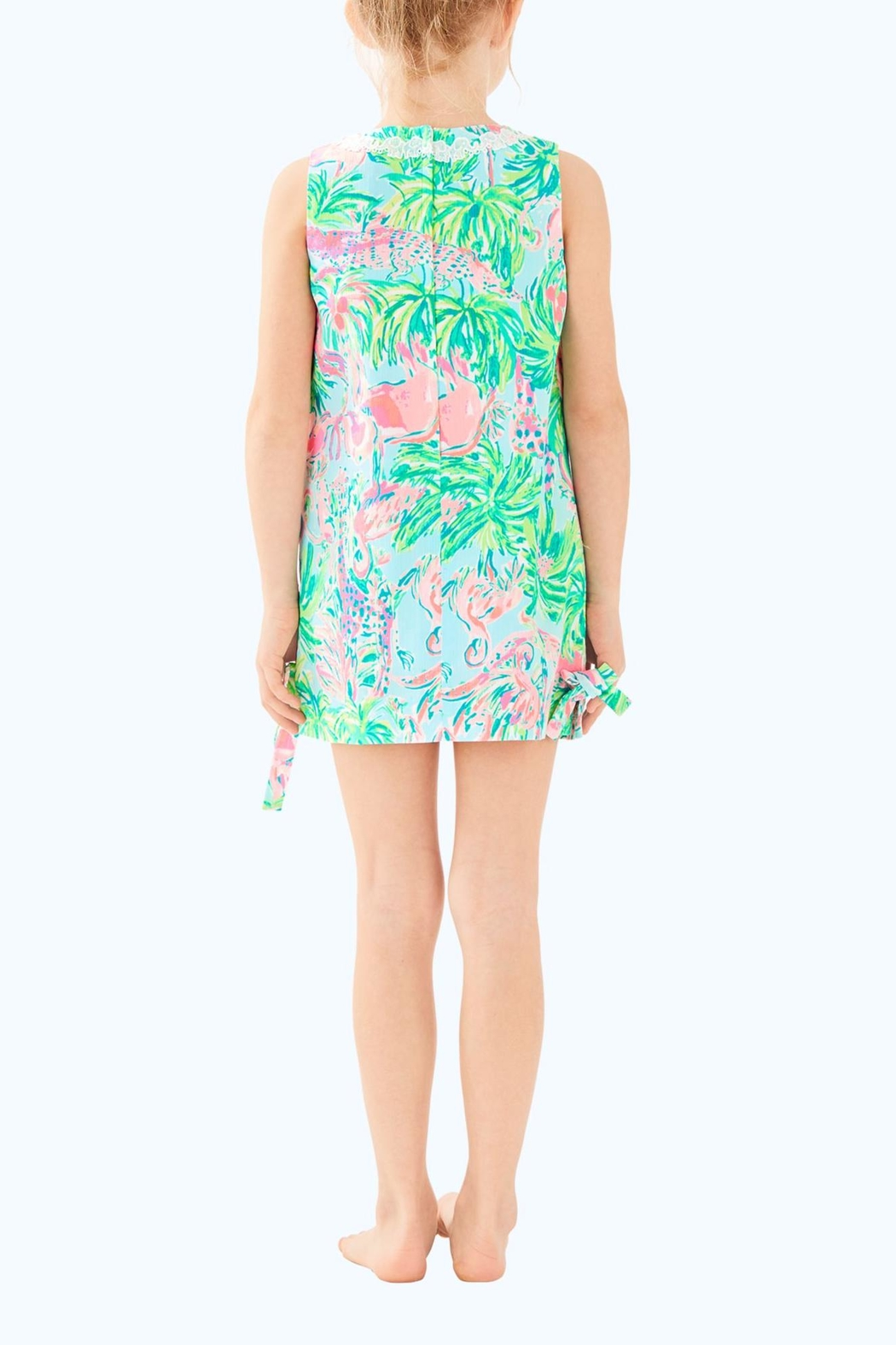 Lilly Pulitzer Girls Shift Dress - Front Full Image