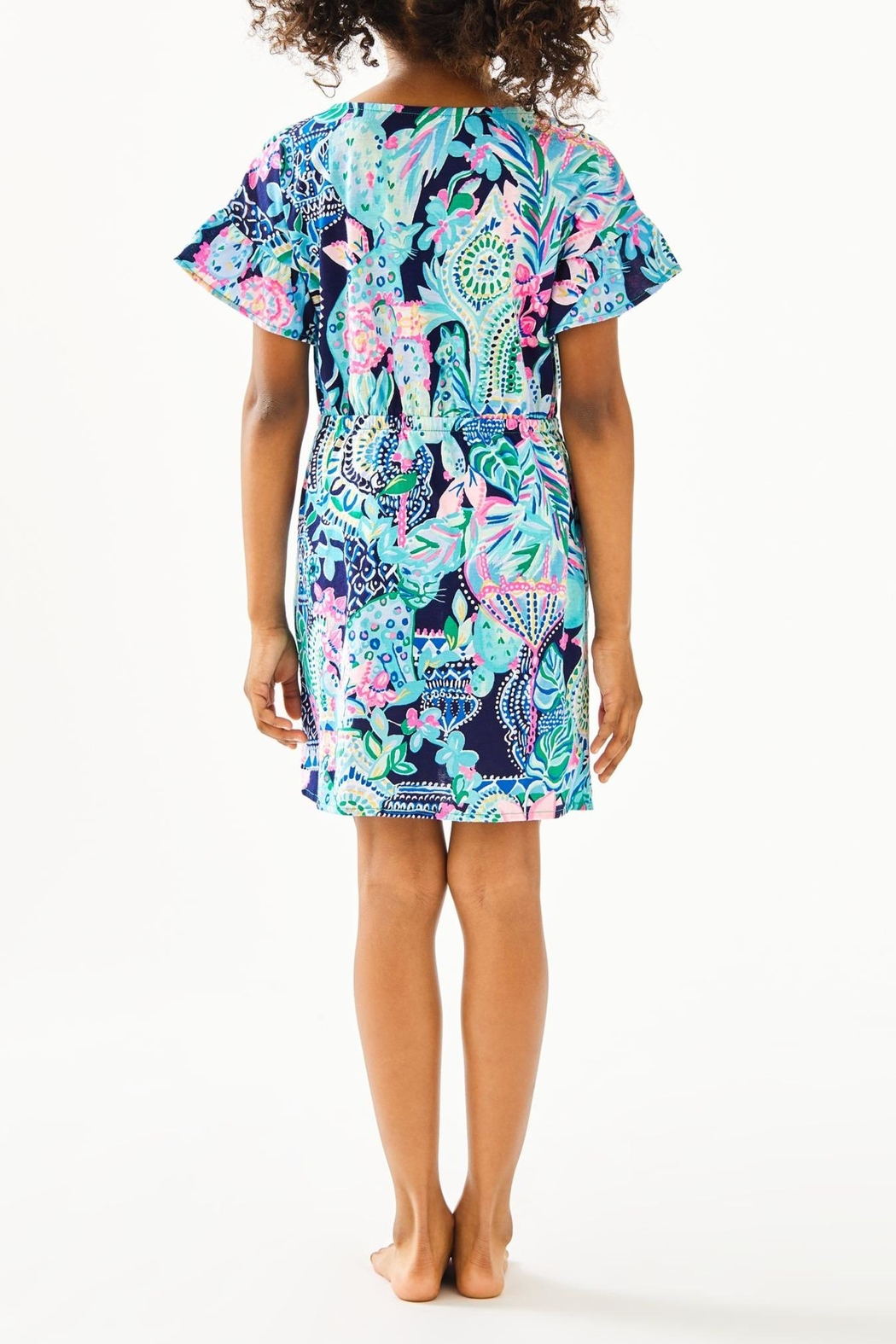 Lilly Pulitzer Girls Stasia Dress - Front Full Image