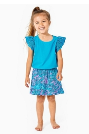Lilly Pulitzer Girls Tania Romper - Product Mini Image