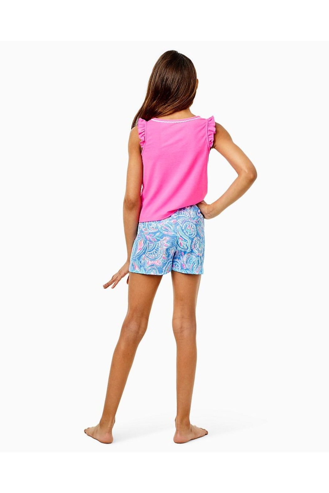Lilly Pulitzer Girls Ygritte Shorts - Front Full Image
