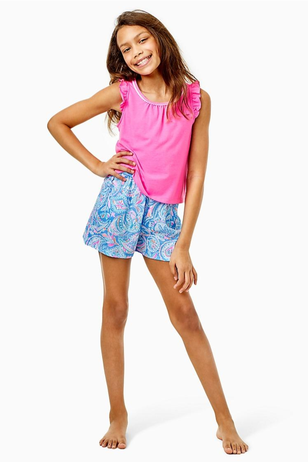 Lilly Pulitzer Girls Ygritte Shorts - Main Image