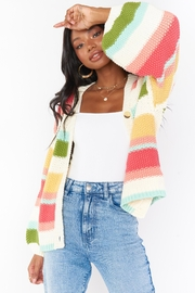 Lilly Pulitzer Good Karma Cardi - Front cropped