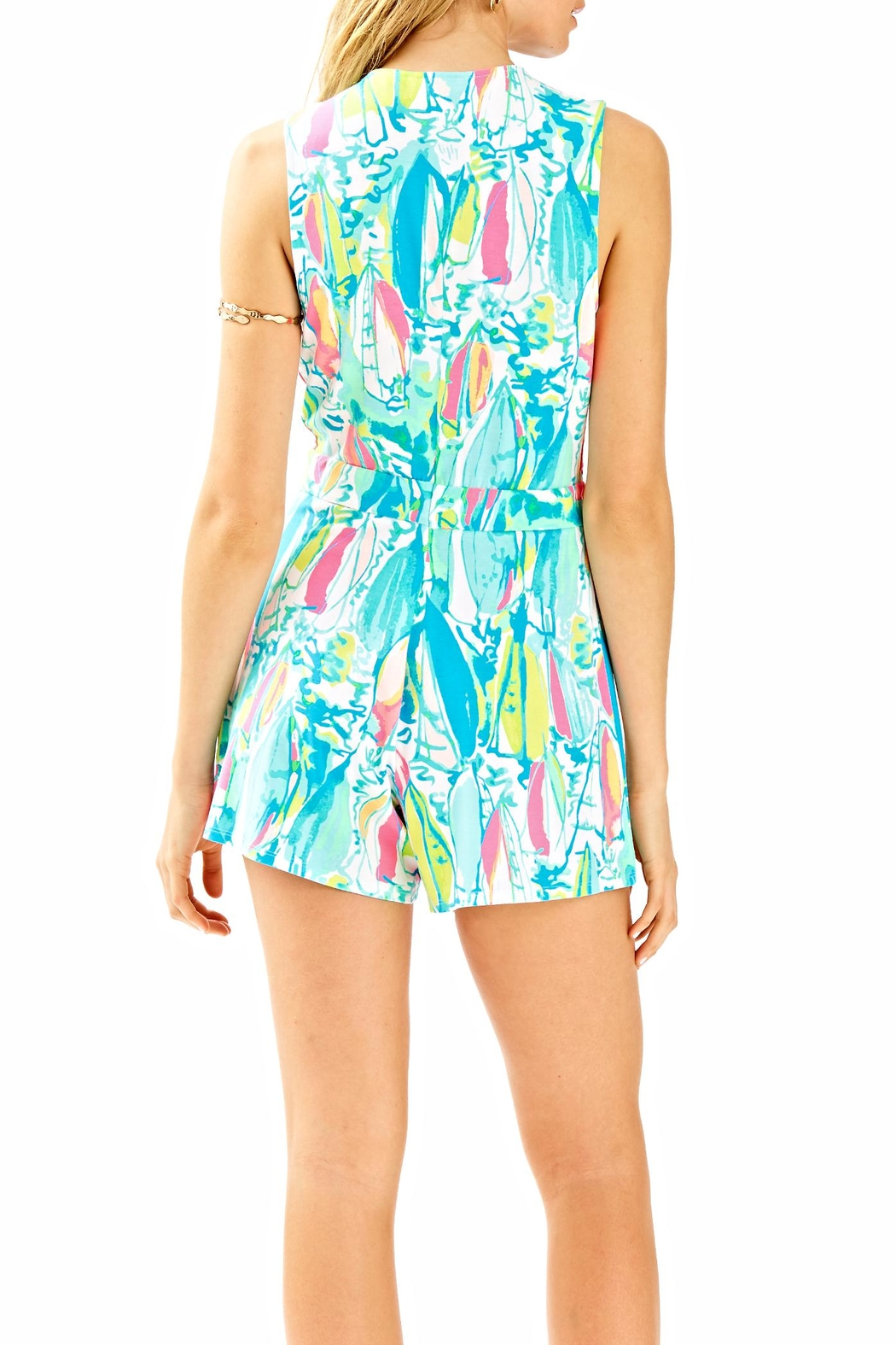 Lilly Pulitzer Greer Romper - Front Full Image