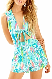 Lilly Pulitzer Greer Romper - Front cropped