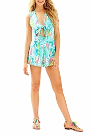 Lilly Pulitzer Greer Romper - Back cropped
