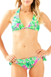 Lilly Pulitzer Guava Bikini Top - Front cropped