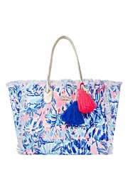 Lilly Pulitzer Gypset Frayed Tote - Product Mini Image
