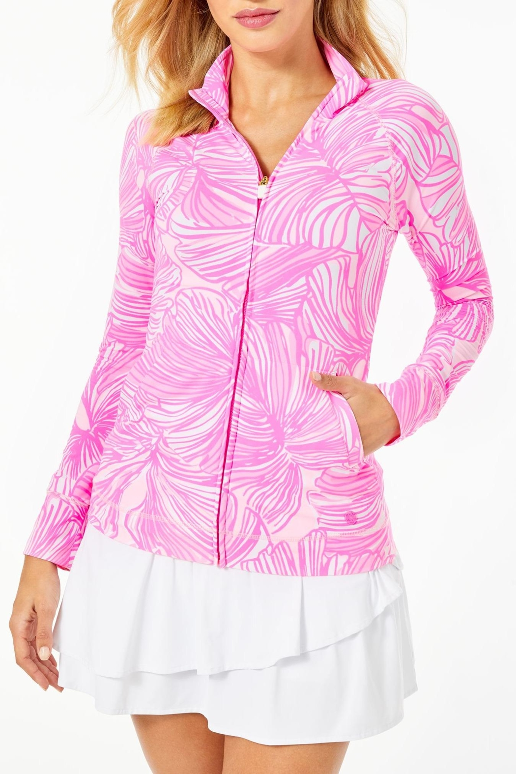 Lilly Pulitzer Hadlee Jacket - Front Cropped Image
