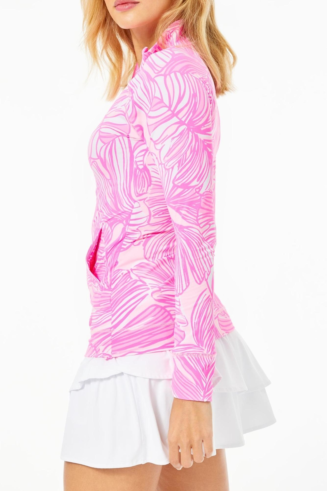 Lilly Pulitzer Hadlee Jacket - Side Cropped Image