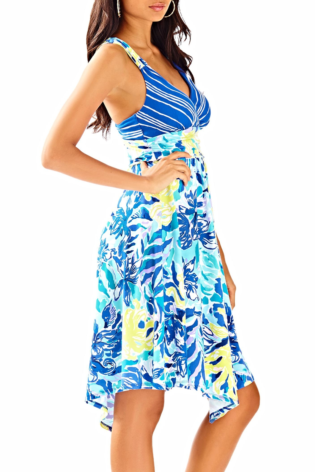 Lilly Pulitzer Hadley Dress - Side Cropped Image